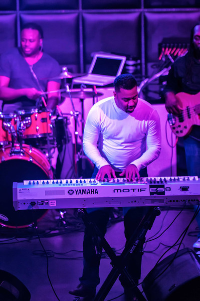 The JazzDiva Presents Marcus Johnson @ Label Charlotte by Jon Strayhorn 1-22-13