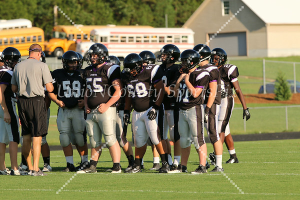 Porter Ridge vs Weddington scrimmage- 8/13/14