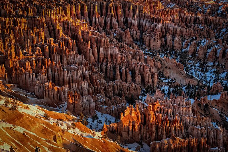 Bryce Canyon Inspration Point Sunrise