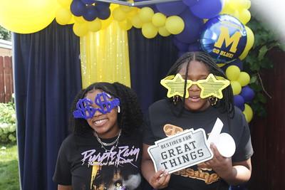Morgan's Grad party