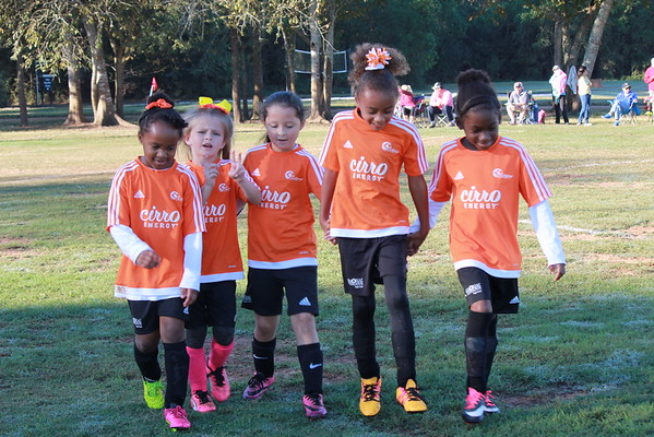 Fall 2016 Soccer Week 7 - U8 Cheetah Girls