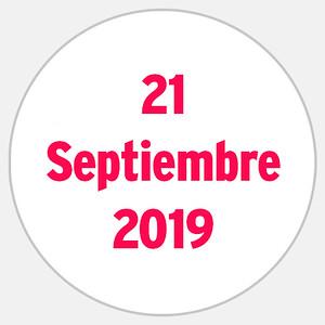 21 Septiembre 2019