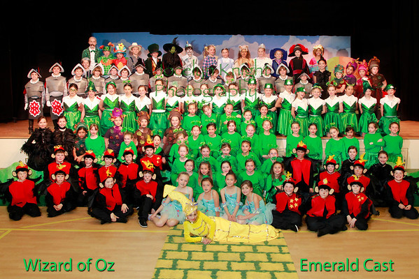 Wizard of Oz Emerald Cast