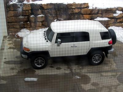 2011 Toyota FJ Cruiser (Artic White)