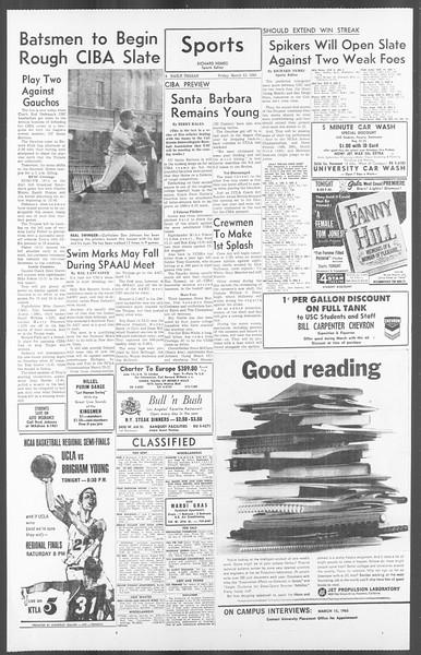 Daily Trojan, Vol. 56, No. 82, March 12, 1965