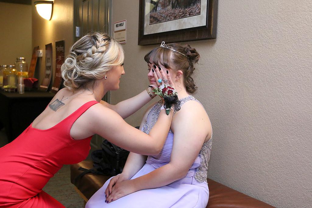 . Oakmont Regional High School held its prom at Great Wolf Lodge New England on Saturday night, May 20, 2017. SENTINEL & ENTERPRISE/JOHN LOVE