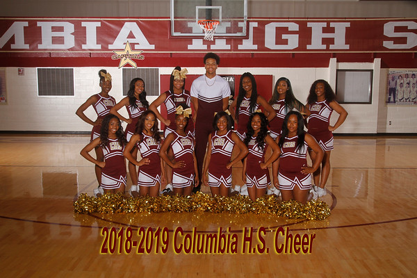 2018 Varsity Cheer