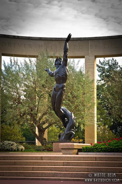 WW II Monument  3   Photography by Wayne Heim