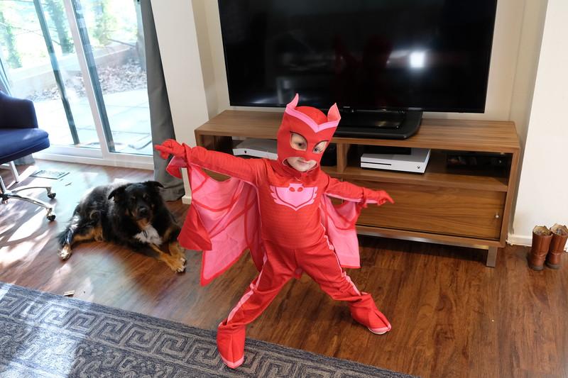 20171017 014 Kate dressed as Owlette from PJ Masks.JPG