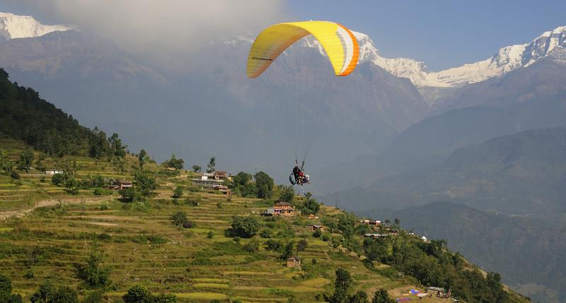 Paragliding - Vidhya