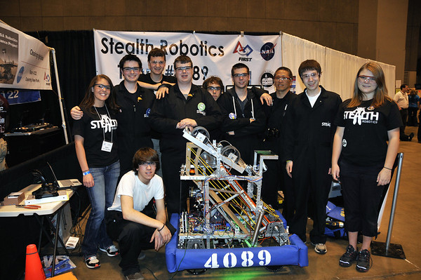 STEALTH ROBOTICS AT NATIONALS APRIL 2012