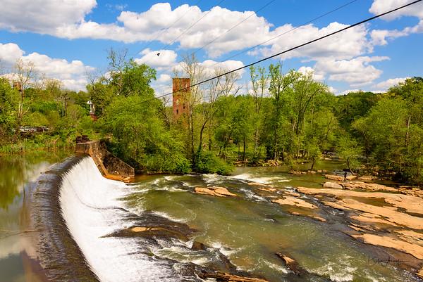 Glendale Shoals Preserve and Waterfalls
