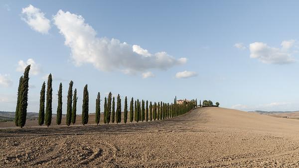 Paysages et villages toscans