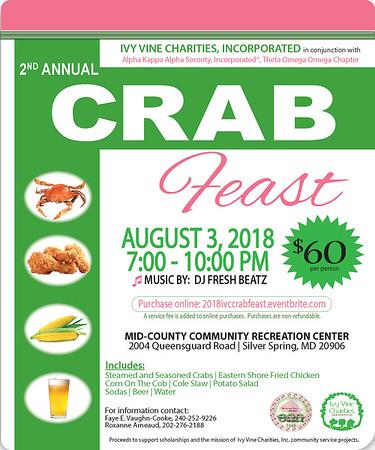 2019-09-06 IVC 3rd Annual Crab Feast