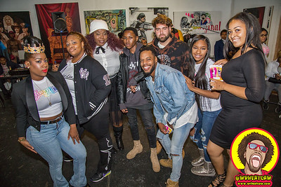 Mix and Mingle by Diallo Mitchell @ Baltimore Gallery 10-25-2015