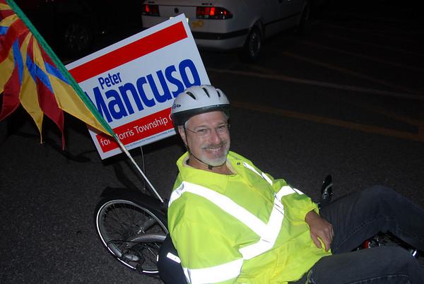 2010-10-29 Morristown Critical Mass Bike Ride