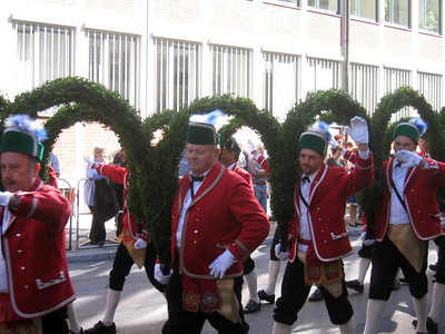 Grand Entry of Landlords and Breweries Parade, Munich, Germany - September 2004