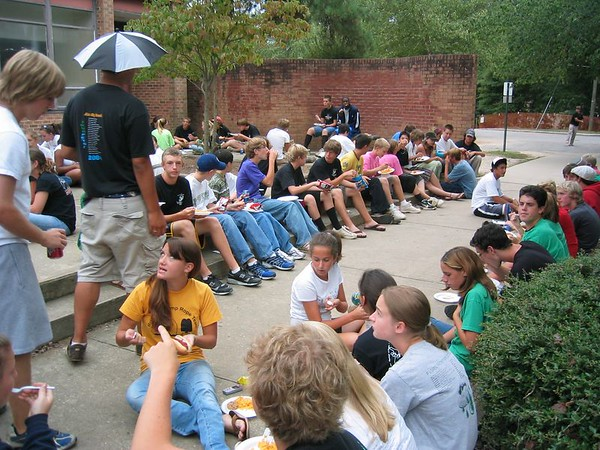 2005-09-29: Football - Cary vs Athens / 8th Grade Night