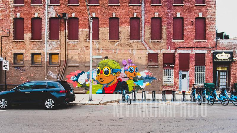 Street Art found in Wicker Park
