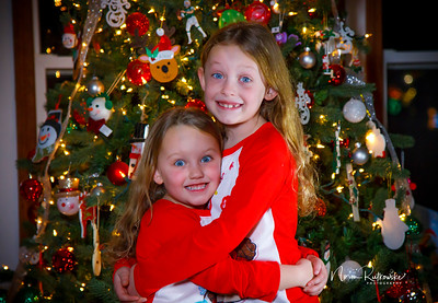 Charlotte and Lexis Christmas 2019