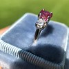 1.71ctw Ruby and Diamond Trilogy Ring 35