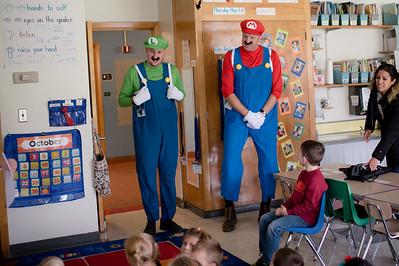 Room 173: Kindergarten Halloween Party!