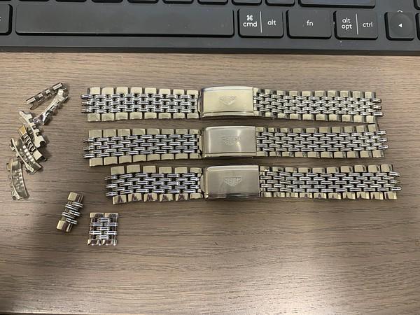 Heuer Double Grain GF Bracelet
