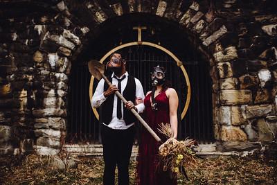 Amanda + Brandon Apocalypse Wedding Blog