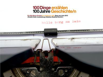100 Dinge | erzählen Geschichte/n von Berg am Laim