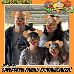 Super Drew Event - October 3, 2021