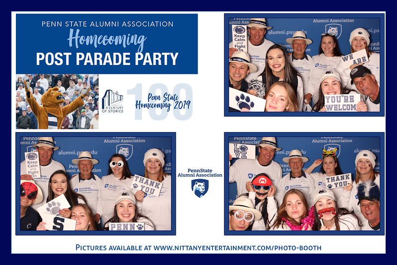 Penn State Alumni Association Homecoming Post Parade Party 2019
