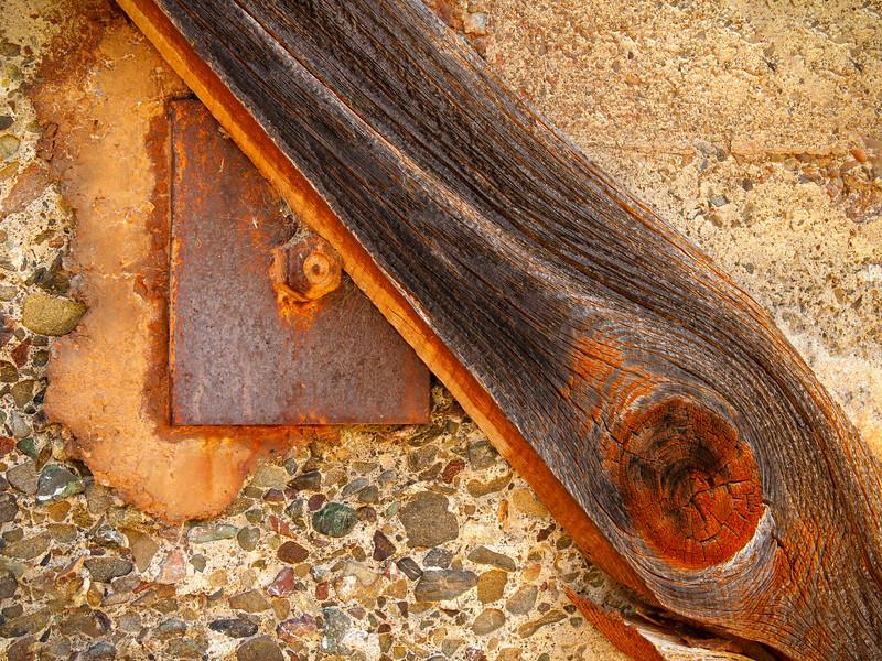 Wall, Almaden Quicksilver County Park, California, 2007