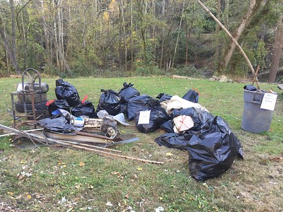 10.26.2017 Patapsco River Cleanup at The Cycle Mill