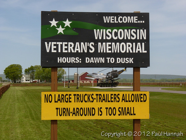 WI Veterans Memorial - Prarie Du Sac, WI - M60A3, UH-1, T-33