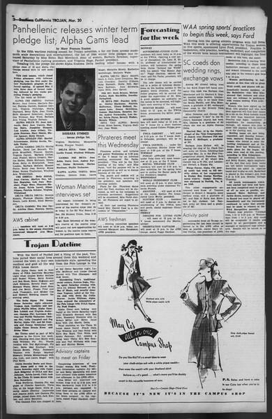 The Trojan, Vol. 35, No. 96, March 20, 1944