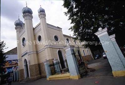 ROMANIA, Cluj Napoca. Reforma Synagogue. (2004)