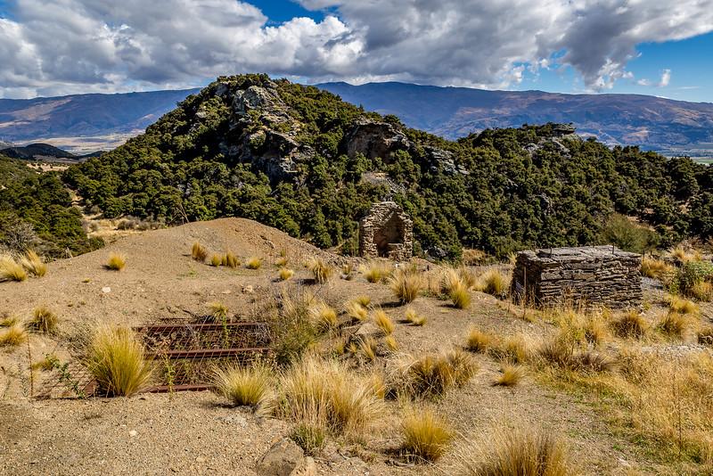 Goldmine Bendigo: Überreste der Mine Matilda