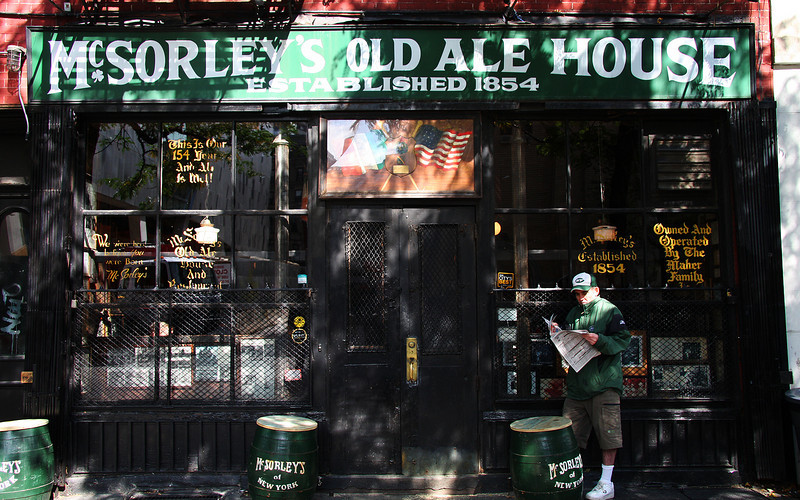 McSorley's Irish Pub, Greenwich Village, NYC