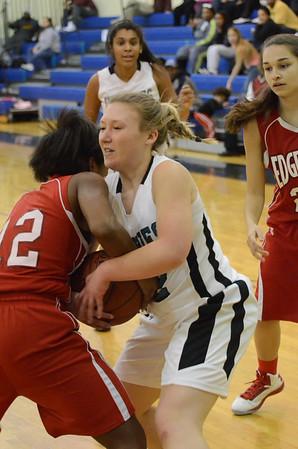 Girls Varsity Basketball February 27 vs Edgewood