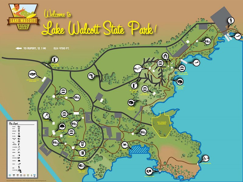 Lake Walcott State Park