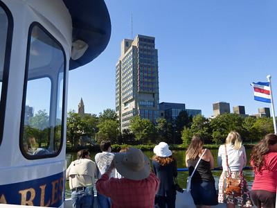 Subway Ride and Charles River Cruise
