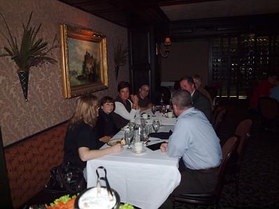 Poker Weekend - 2012 - Saturday Dinner