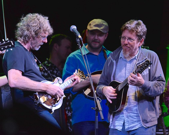 Sam Bush and Tim O'Brien - 2017 RockyGrass