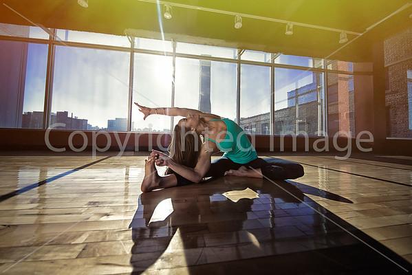 Yoga by Sharon Wentz