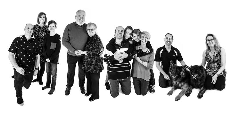 Dave, Yvonne & Family