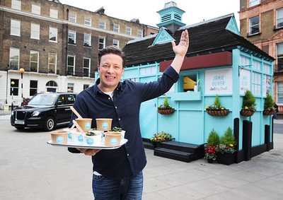 15/1/19 - Shell and Jamie Oliver launch 'Jamie Oliver deli by Shell'