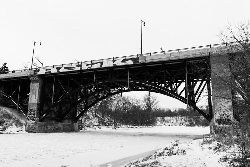 Bloor St Bridge Over The Humber River