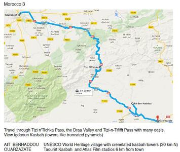 16 September 2015 Marrakech--Tizi n'Tichka-Ouarzazate-Return
