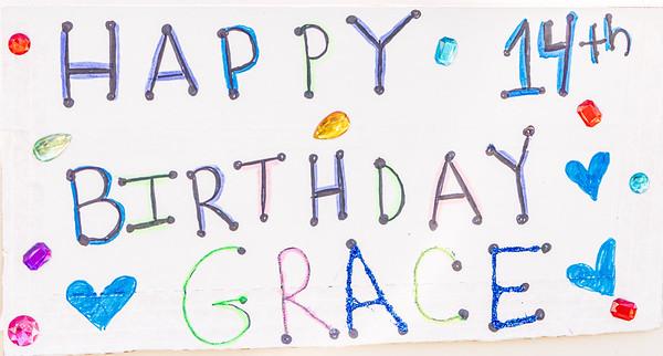 Gracie's 14th Birthday