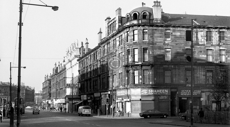 Gorbals St and Cleland St.  